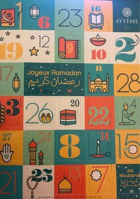 Un calendrier du ramadan - Produit