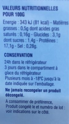 Noix de saint jacques - Ingrédients - fr