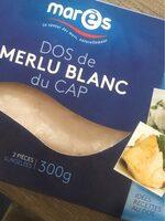 Dos de merlu blanc du cap - Produit - fr