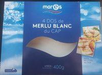 4 Dos de Merlu blanc du Cap - Produit - fr