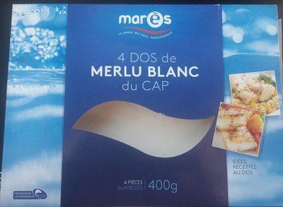 4 Dos de Merlu blanc du Cap - Produit