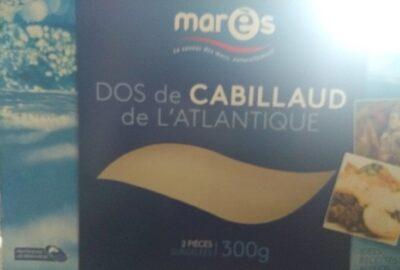 Dos de cabillaud de l'Atlantique - Produit - fr