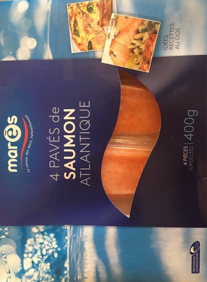 4 paves de saumon atlantique - Produit - fr