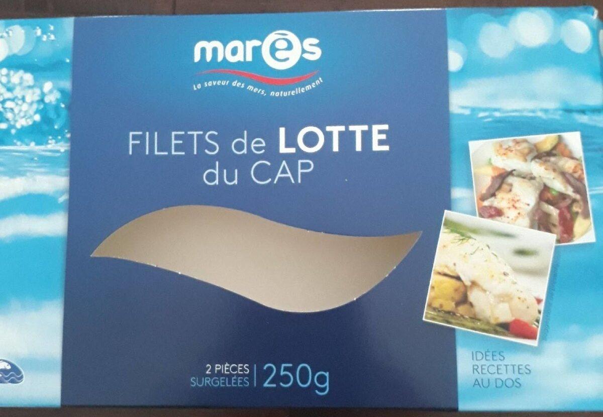 Filets de lotte du Cap - Produit - fr