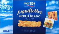 Aiguillettes de merlu blanc - Produit - fr