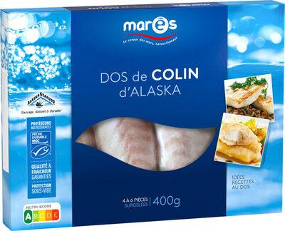 Dos de Colin d'Alaska surgelés - Produit
