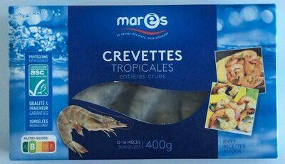 Crevettes tropicales entières crues - Produit - fr