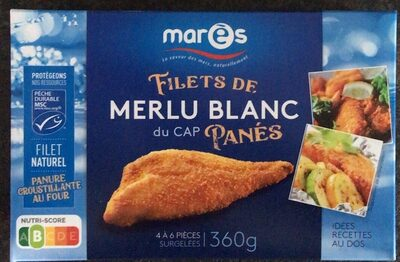 Filets de merlu blanc du Cap panés - Produit - fr