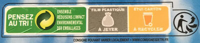 Filets de merlu blanc du Cap panés - Instruction de recyclage et/ou information d'emballage - fr