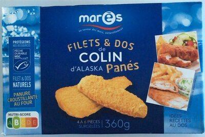 Filets & dos de colin d'Alaska panés - Produit - fr