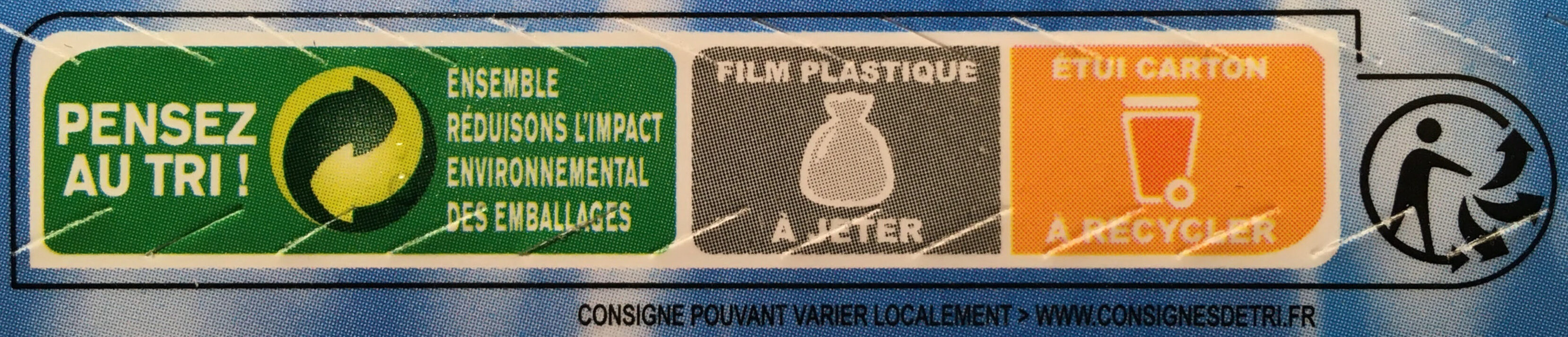 Filets & dos de colin d'Alaska panés - Instruction de recyclage et/ou informations d'emballage - fr