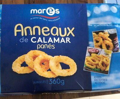 Anneaux de calamar panés - Produit