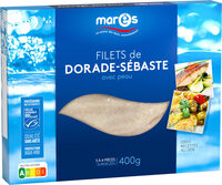 Filets Dorade-Sébaste avec peau MSC - Product - fr