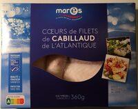 Coeurs de filets de cabillaud de l'Atlantique - Produit - fr