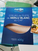 Cœurs de filets de merlu blancs du cap - Produit - fr
