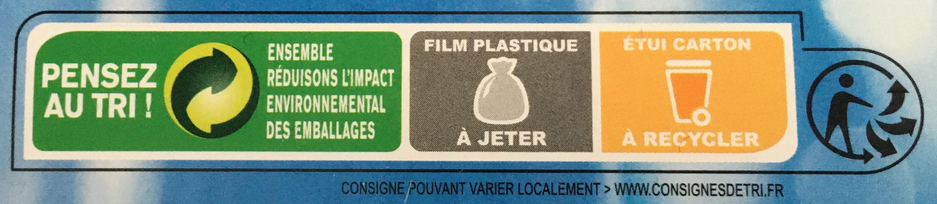 Cœurs de filets de merlu blancs du cap - Instruction de recyclage et/ou informations d'emballage - fr