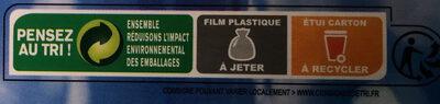 Calmars du Cap nettoyés - Instruction de recyclage et/ou informations d'emballage - fr