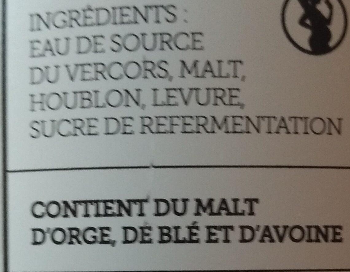 Blanche - Ingredients - fr