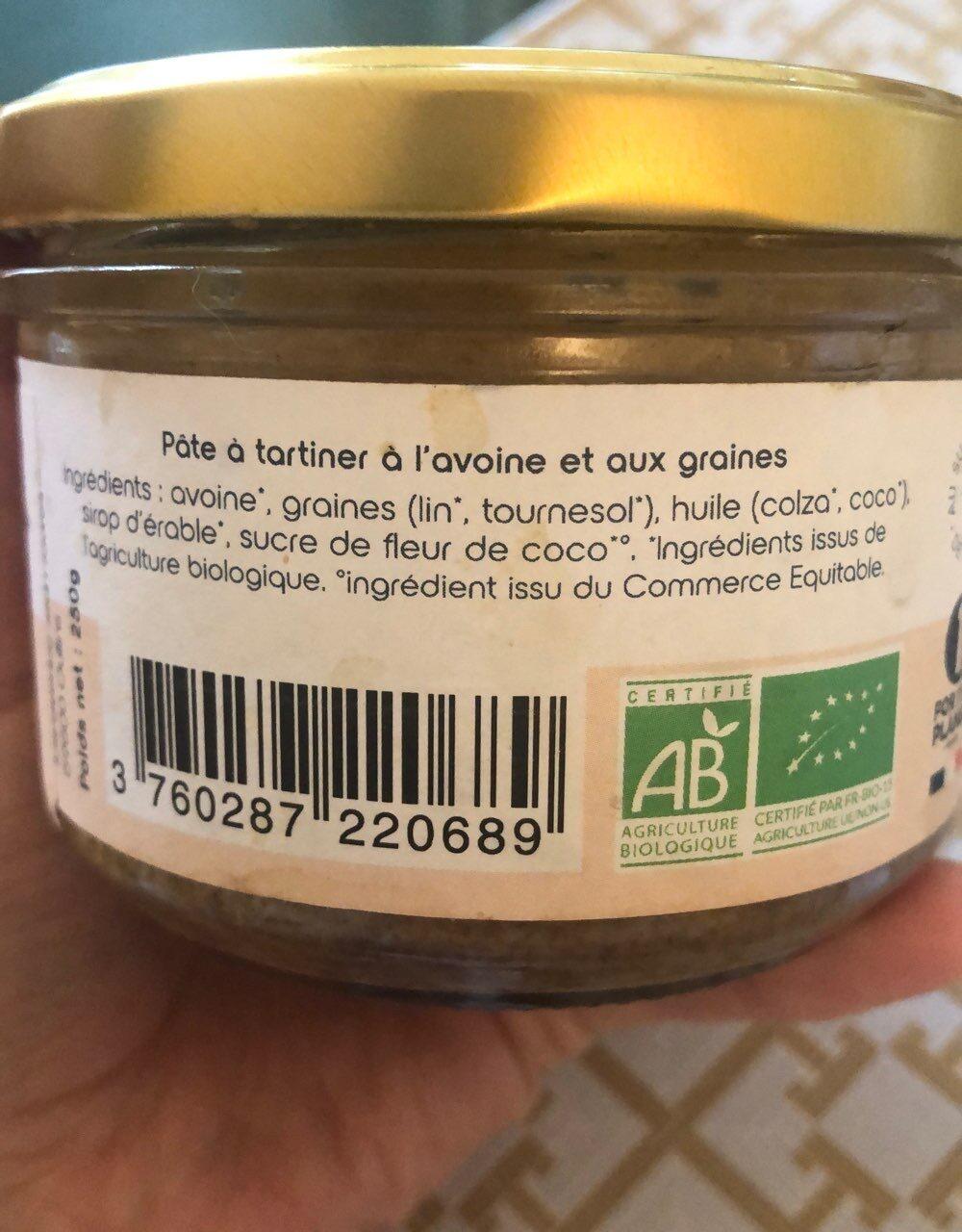 Pâte à tartiner au granola - Ingrédients - fr