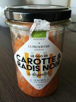 Le duo de carotte et radis noir - Product