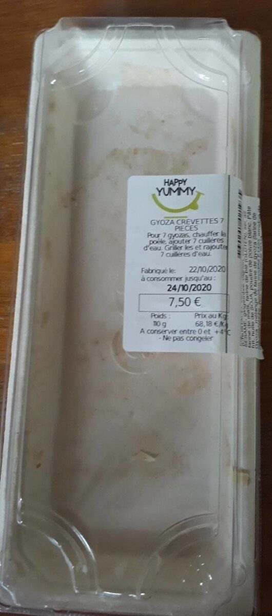 Gyoza crevettes 7 pièces - Product - fr