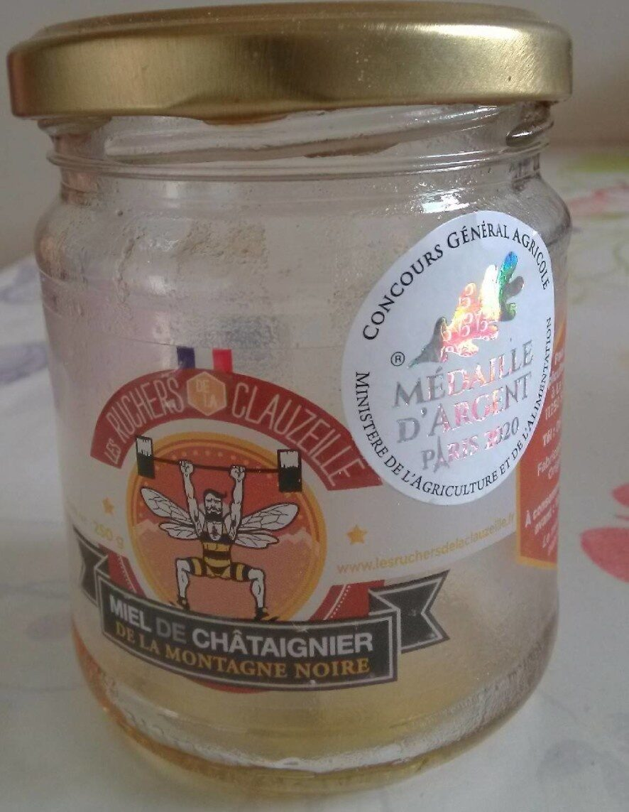 Miel de châtaignier de la Montagne Noire - Produit - fr
