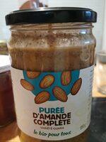 Purée d'amande complète variété guara - Produit - fr