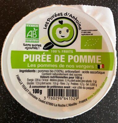 Puree de pomme - Produit - fr