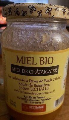 Miel Bio de Châtaignier - Produit - fr
