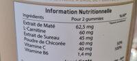 Good slim - Informação nutricional - fr