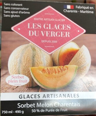 Sorbet melon charentais - Produit - fr
