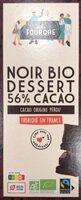 Chocolat pâtissier 56% bio et équitable - 200g - Prodotto - fr