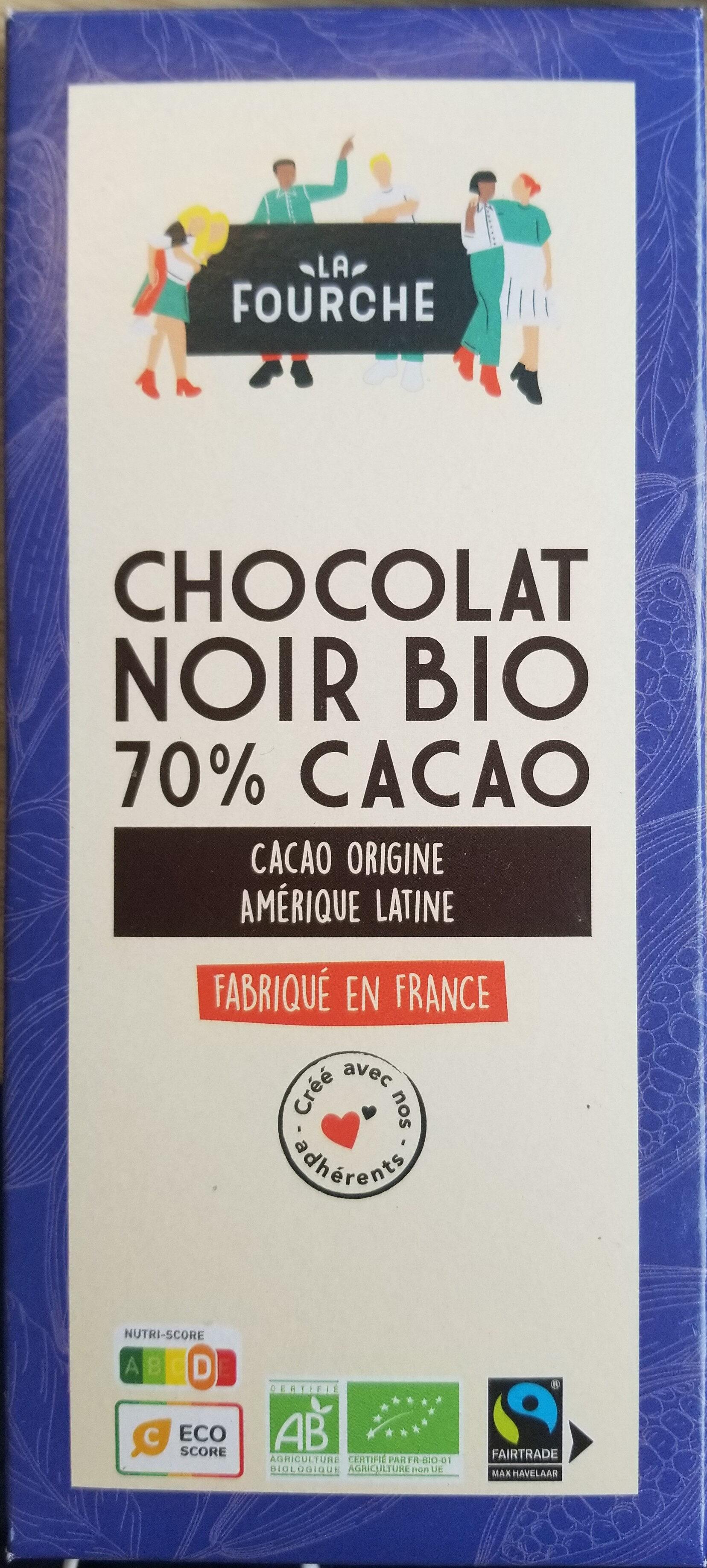 Chocolat noir 70% bio et équitable - 100g - Prodotto - fr