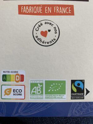 Chocolat noir 70% bio et équitable - 100g - Istruzioni per il riciclaggio e/o informazioni sull'imballaggio - fr