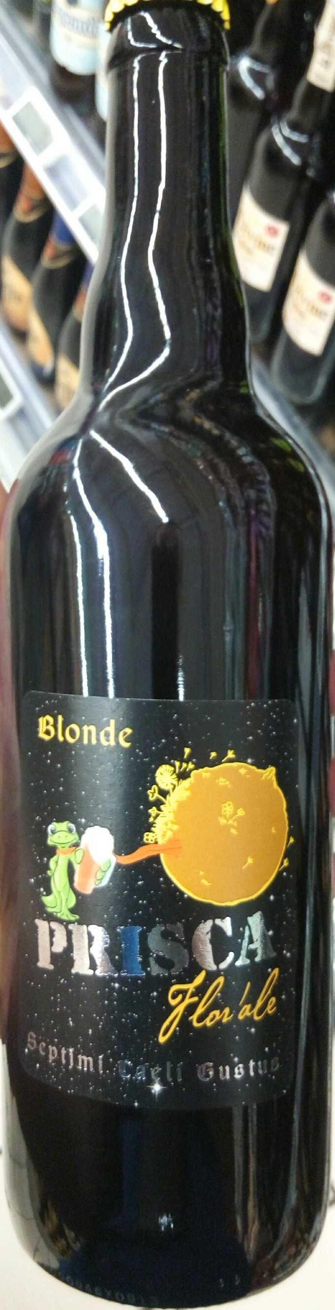 Prisca Blonde Florale - Produit