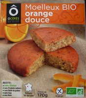 Moelleux BIO orange douce - Product
