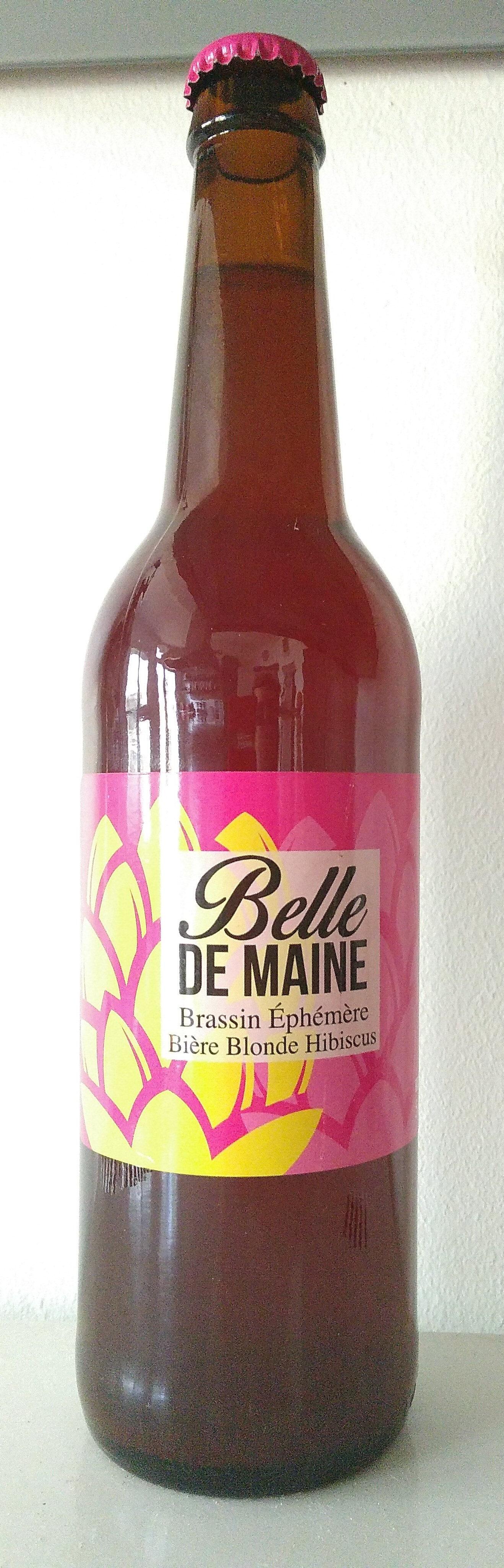 Belle de Maine éphémère blonde hibiscus - Product - fr