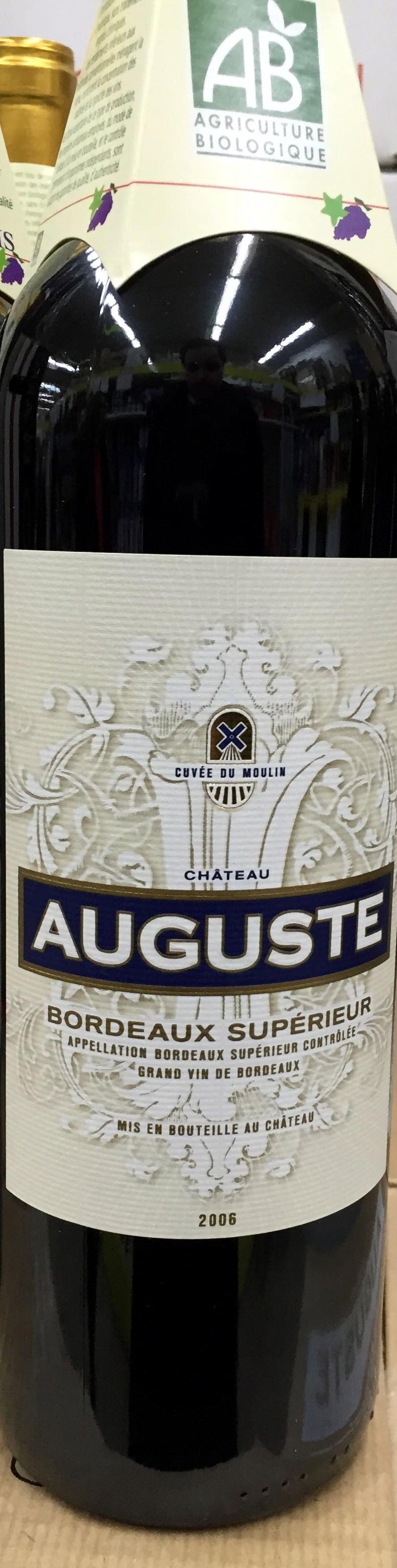 Château Auguste Bordeaux Supérieur 2006 - Product