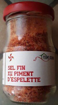 Sel fin au piment d'espelette - Product - fr