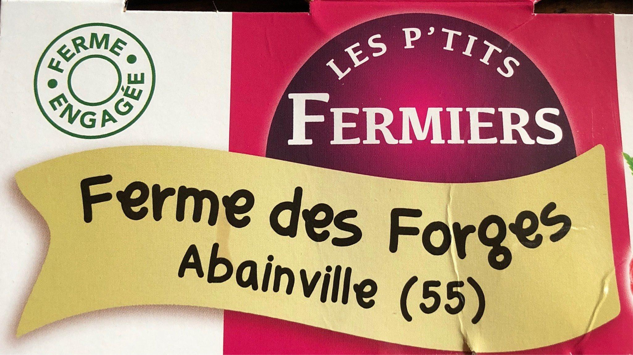 Yaourt fermier framboise - Produit