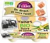 Yaourt Fermier au sucre de canne - Product