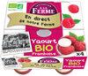 Yaourt bio framboise - Product