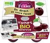 Yaourt Bio Griottes de Lorraine - Produit
