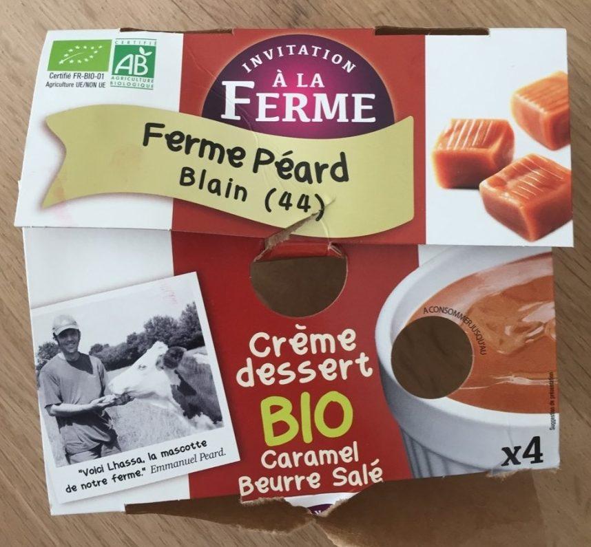 Crème dessert caramel beurre salé - Produit - fr