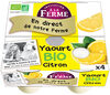 Yaourt Bio Citron - Product