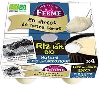 Riz au lait nature - Product - fr