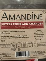 Petits four aux amandes - Produit - fr