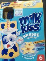 MILK'KISS brassé vanille gourdes - Product