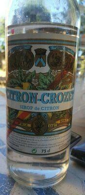 Sirop de citron - Product - fr