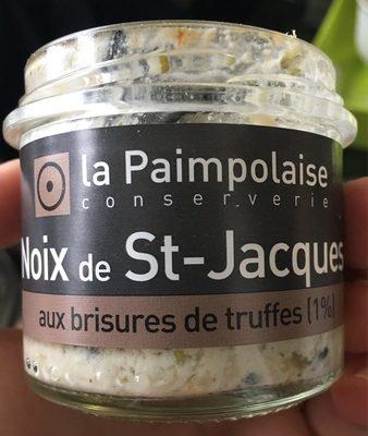 Noix de St-Jacques aux brisures de truffes - Product